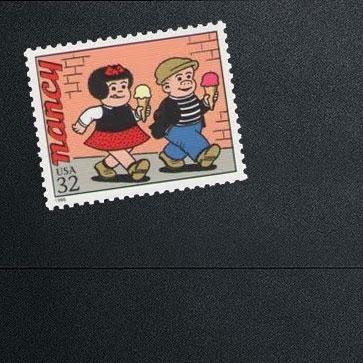 Nancy & Sluggo Stamps!