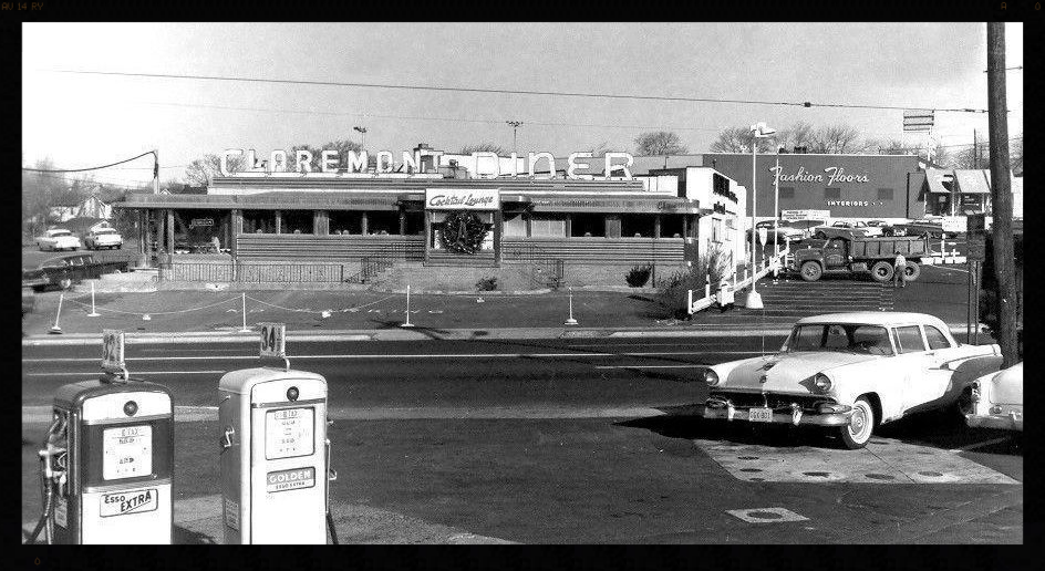 The Claremont Diner in the late 1950s or early '60s.  Read the story on    NJ.com   .