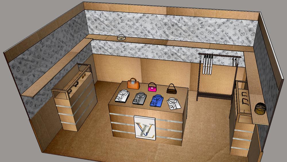 LV DIY rendering