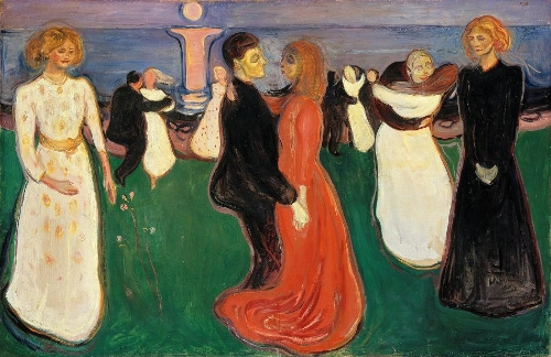 Edvard Munch-The Dance of Life
