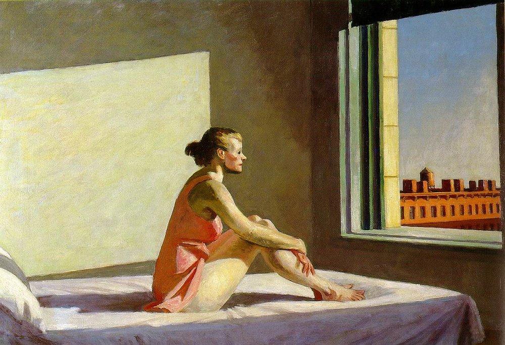 Edward Hopper- Morning Sun
