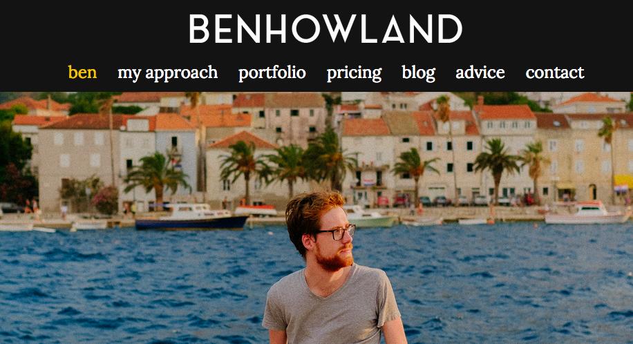 ben website
