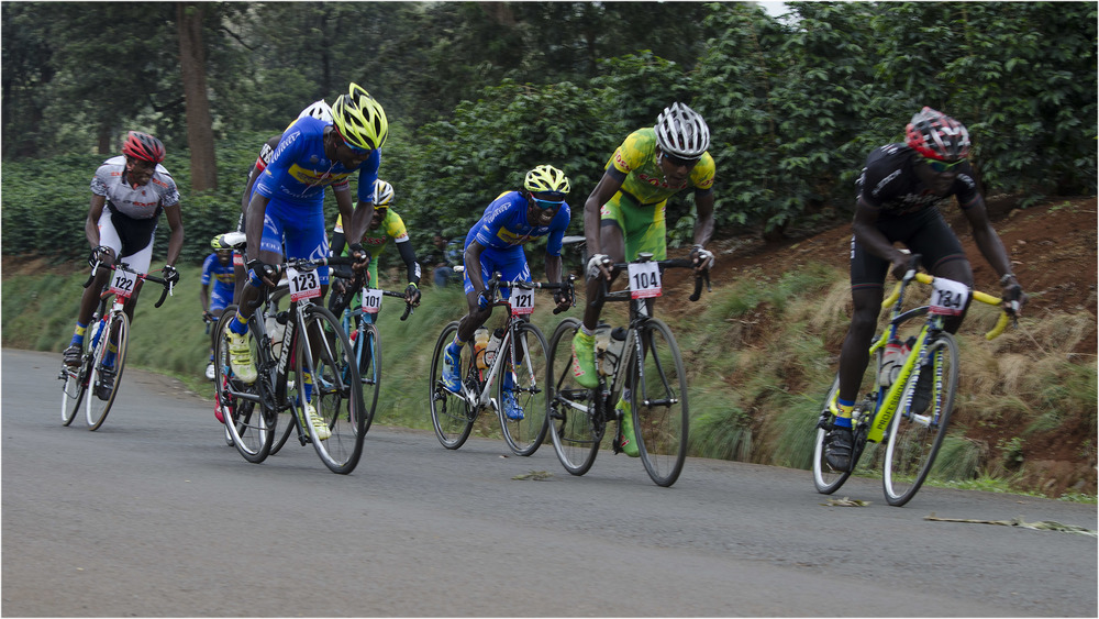 Salim Kipkemboi of Kenyan Riders pips the pros at their game. Photo courtesy of Tonny Githinji