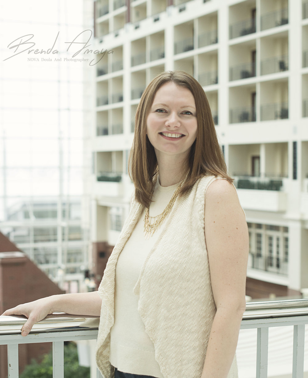 Emily Smith is a doula and childbirth educator for the greater Washington, DC area. (Photo courtesy of Emily Smith)