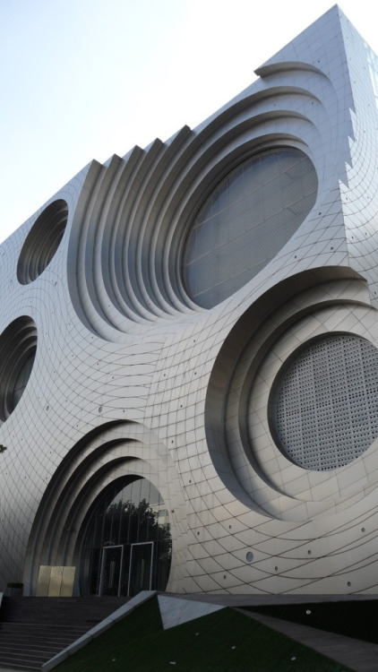 Sound inspired Architecture via Tumblr