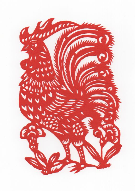 Rooster via Pinterest