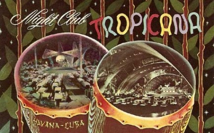 Vintage postcard of the famous Tropicana Night Club, Havana Cuba