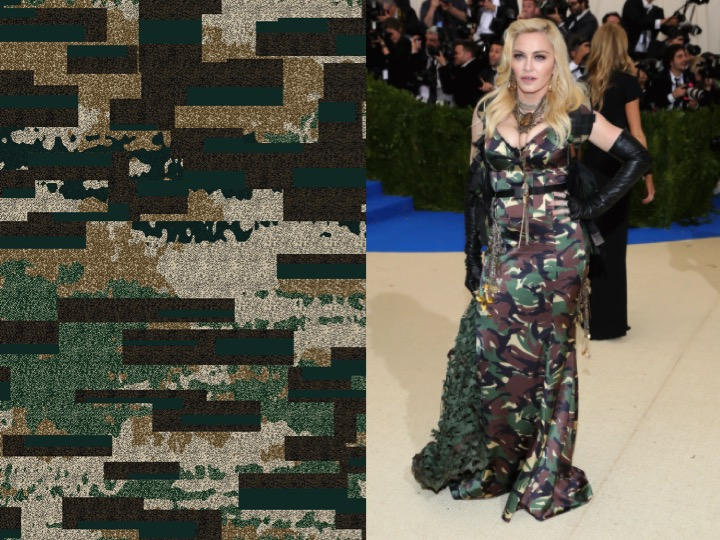 Left: 2-EH06855-1   /  Right: Madonna wearing Moschino