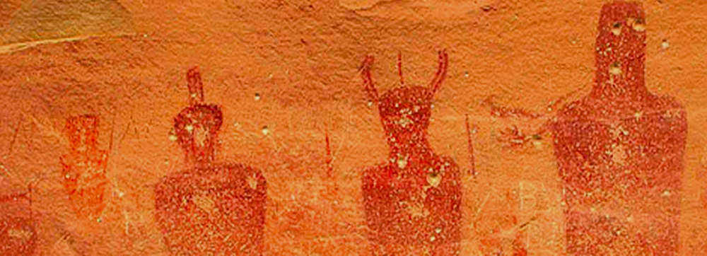 Ancient American Indian Cave Pictorials