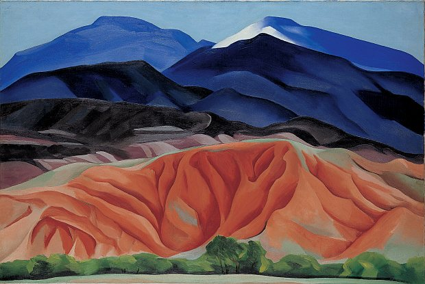 Georgia O'Keeffe - Black Mesa, New Mexico