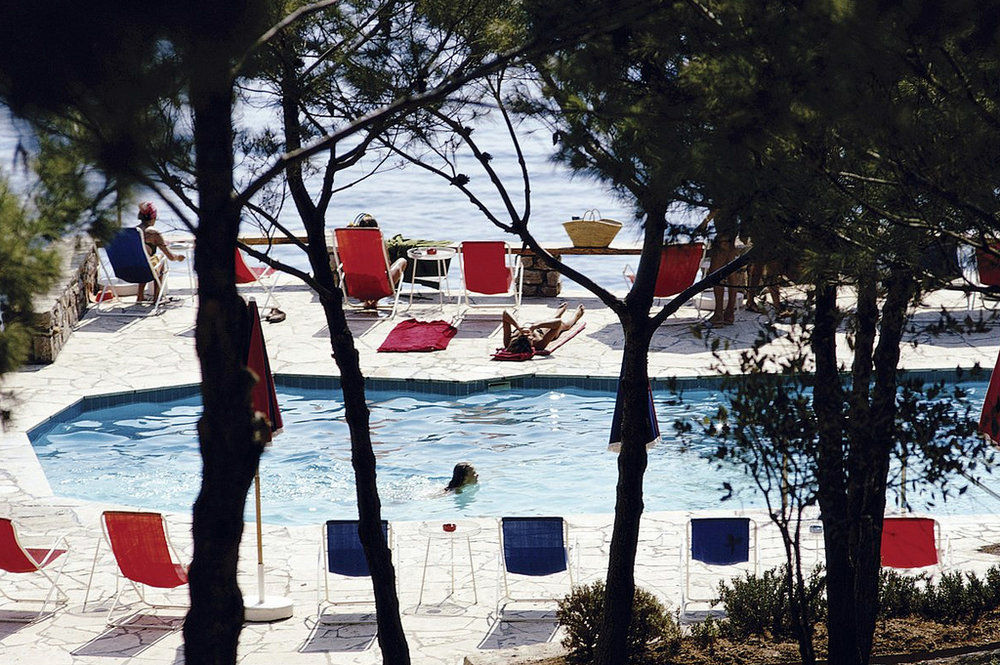 Hotel Il Pellicano, Porto Ercole, Italy, 1969