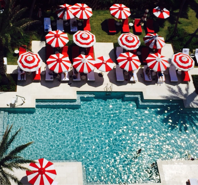 Faena Hotel pool, Miami Florida via Pinterest