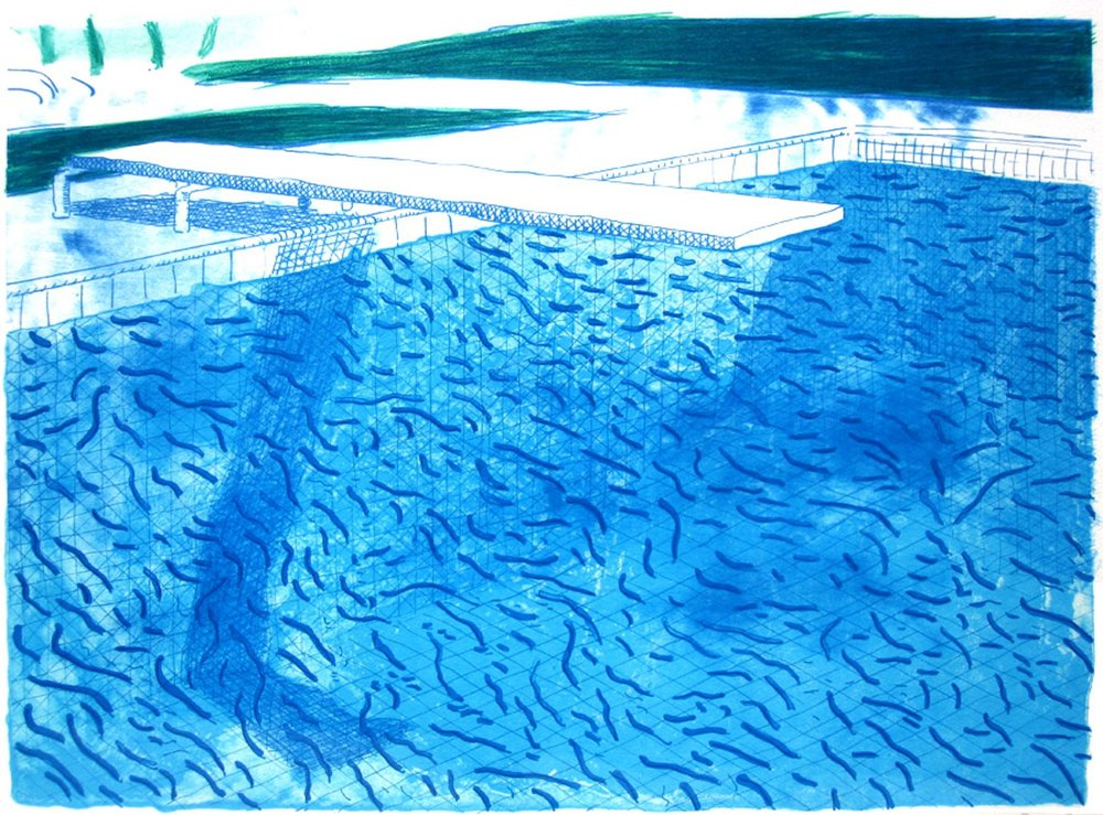 Pool by David Hockney