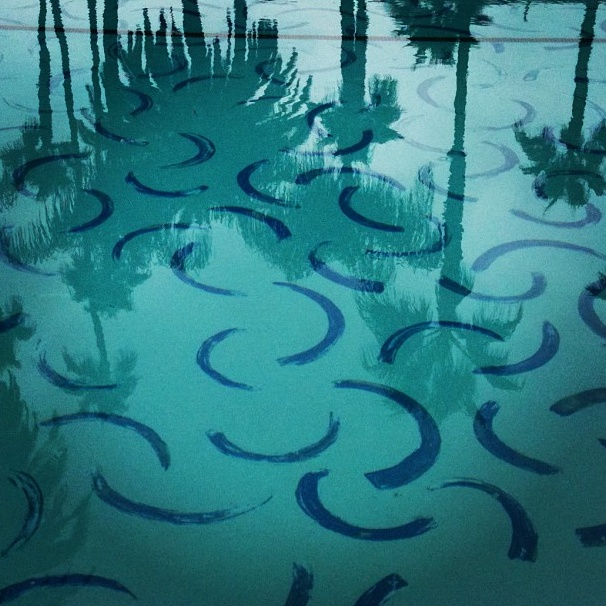The Roosevelt Hotel Pool by David Hockney, Hollywood, California