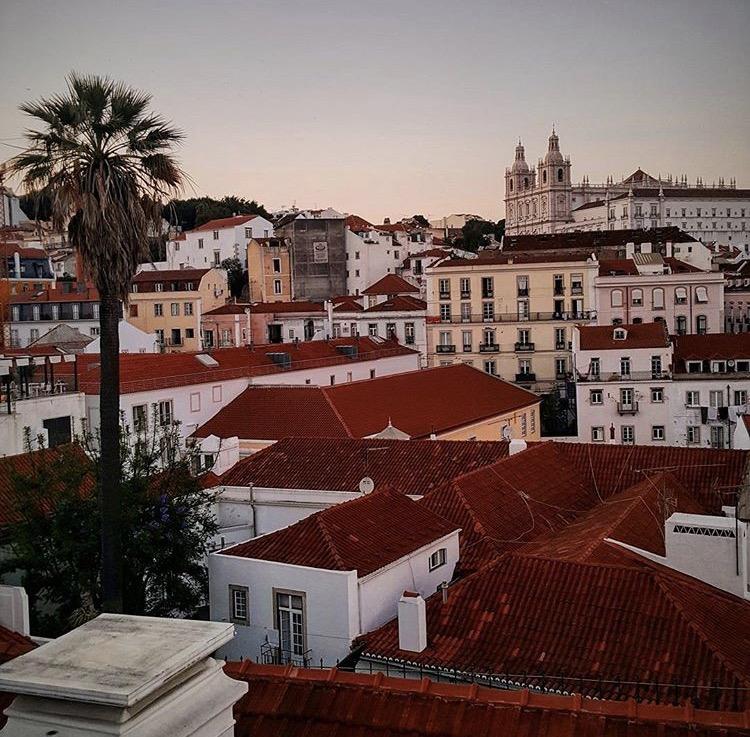 Lisbon Portugal city scape
