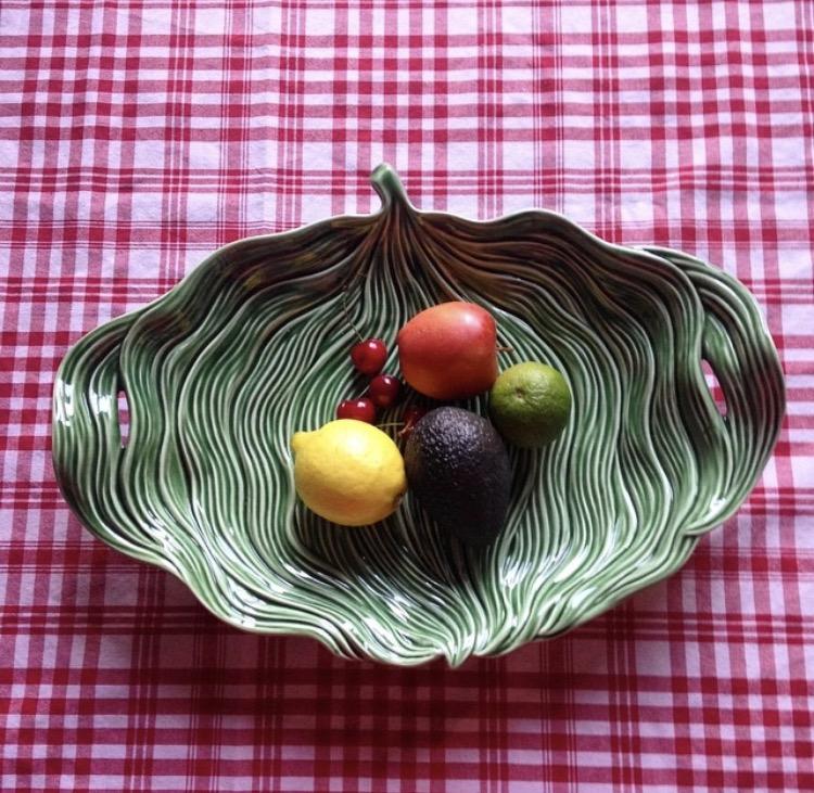Bordallo Pinheiro ceramic bowl - A Vida Portguesa