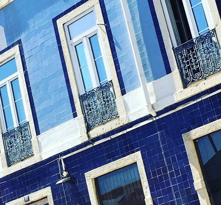 Building Facade - Lisbon, Portugal