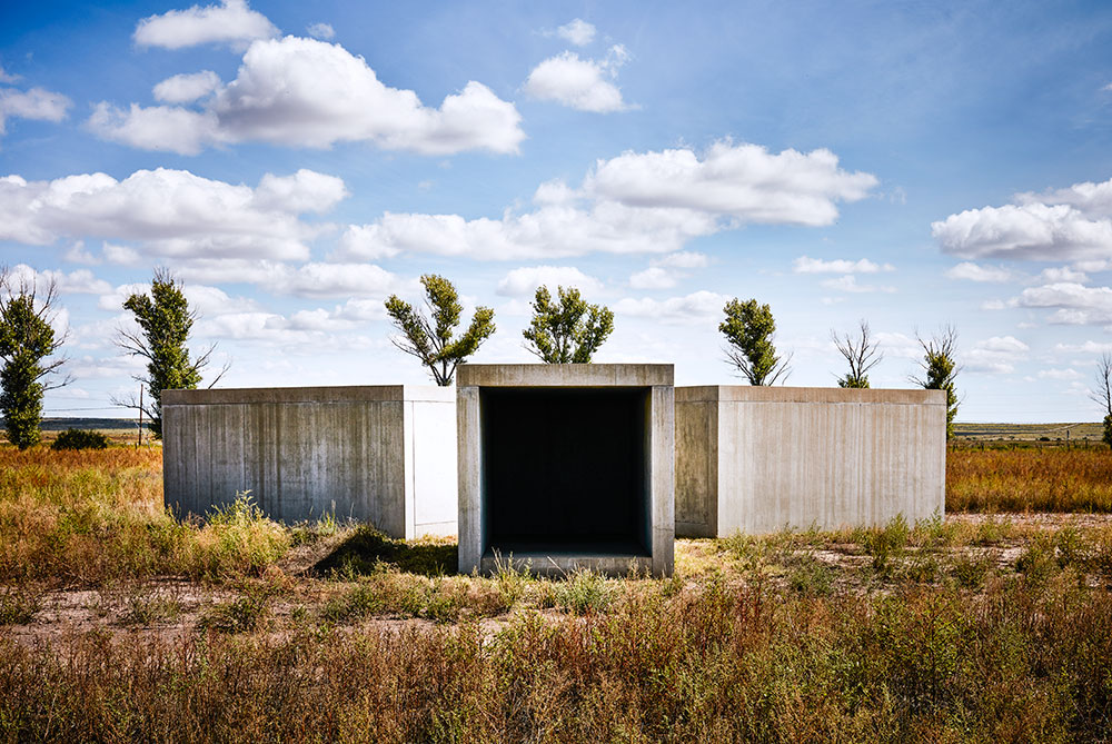 Donald Judd's 15 untitled works in concrete, 1980-1984 - Marfa, Texas