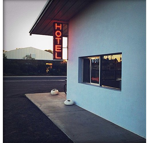 The Thunderbird Hotel  -  Marfa, Texas