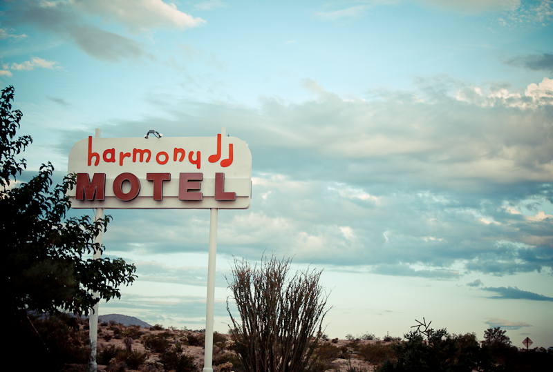 Harmony Motel - Joshua Tree, California