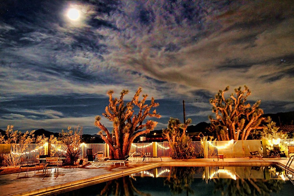 Mojave Sands Hotel - Joshua Tree, California