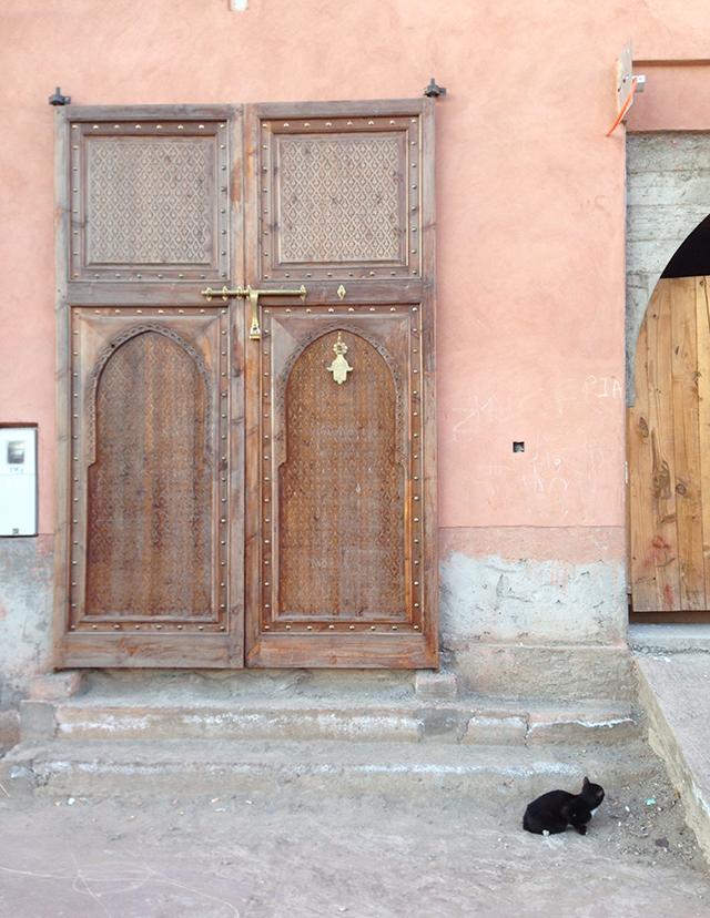 Facade Moroccan door