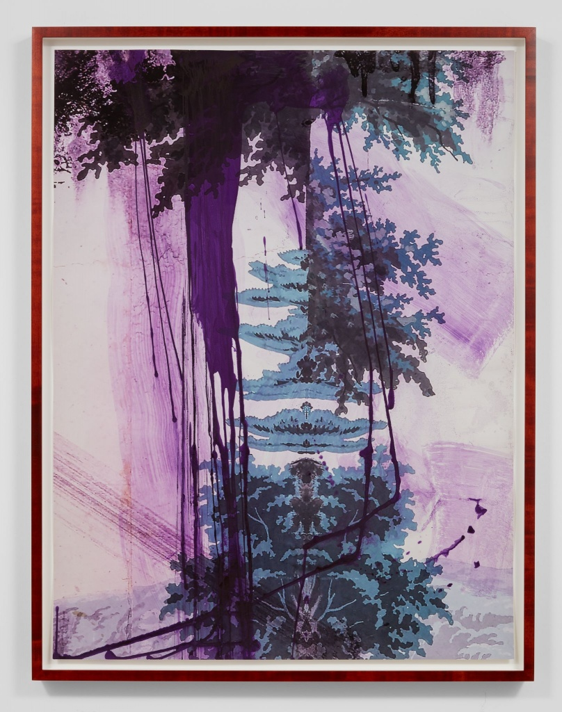 "Artist Julian Schnabel: Bild ""Walt Whitman (Air)"" 2016"