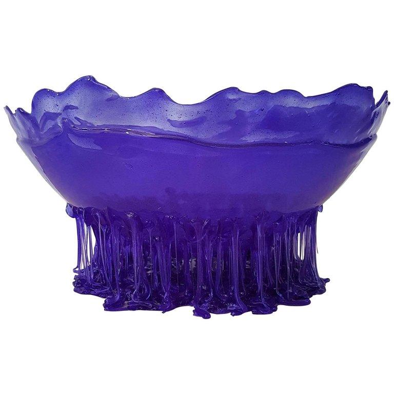 Violet Bowl by Gaetano Pesce in poliurethane