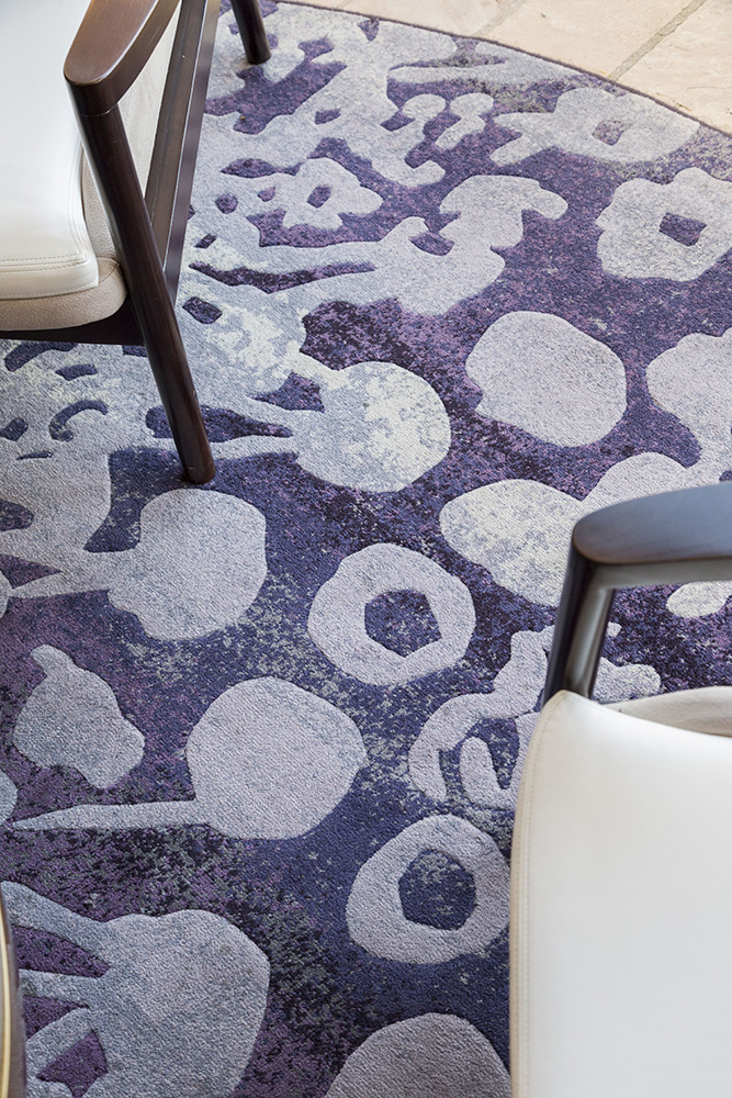 Royal Thai custom created carpet for Loews Ventana Canyon Resort - Tucson, Arizona