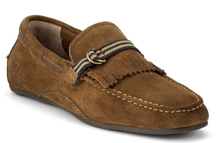 Vintage driving shoe
