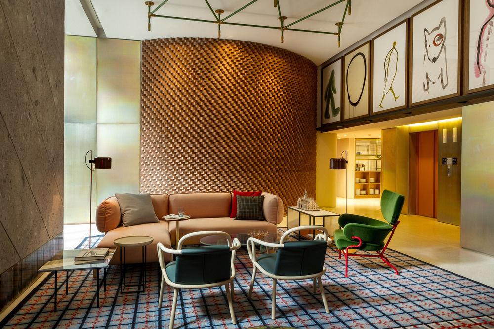 Room Mate Giulia Hotel Lobby - Milano, Italy