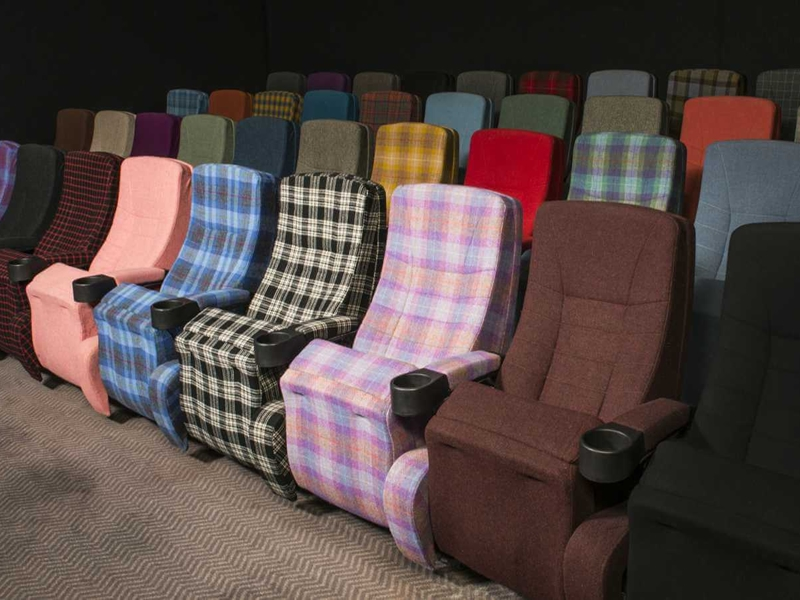 "The Blythswood Square Hotel's  ""Screening Room"" - Glasgow, UK"