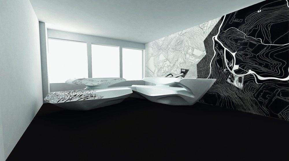 Zephyr Sofa – Peak Print – Gallery Gmurzynska [2010] – ZHD