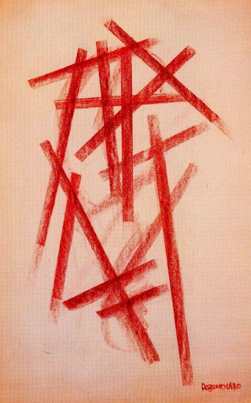Artist Alexander Rodchenko, Linear Composition - 1920