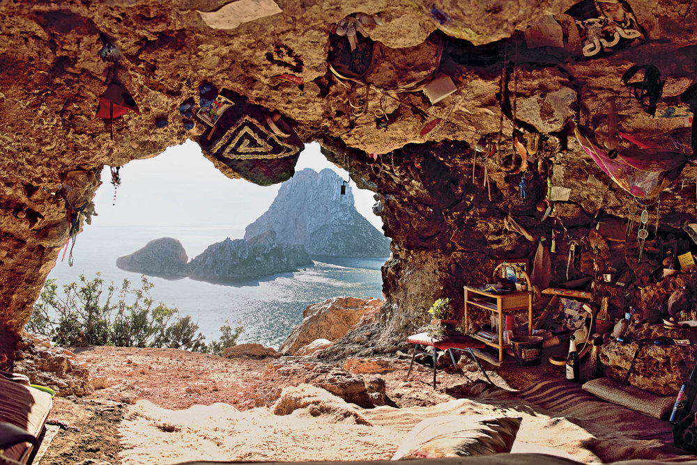Secret cave of Es Vedra - Ibiza, Spain