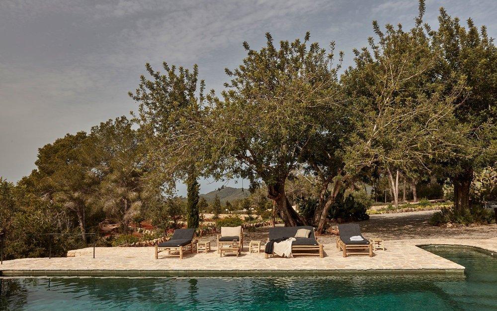 La Granja Hotel pool - Ibiza, Spain