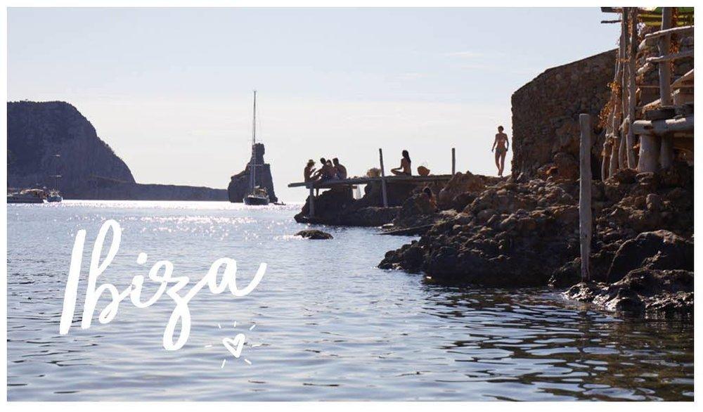 Postcard from Ibiza, Spain
