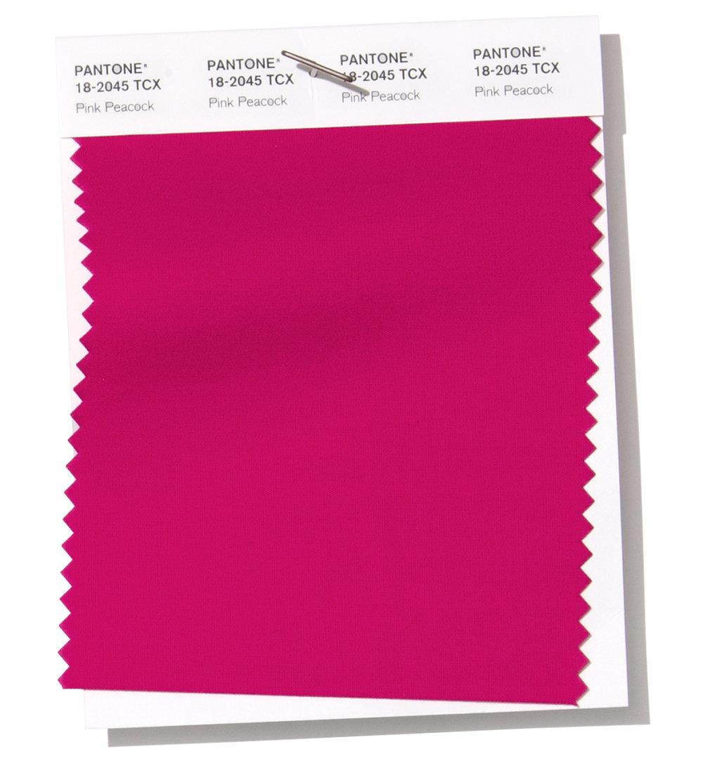 Pantone Pink Peacock 18-2045