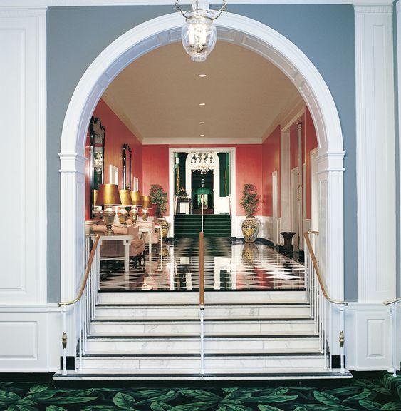 Dorothy Draper designed : The Greenbrier Resort - Sulphur Springs, WV
