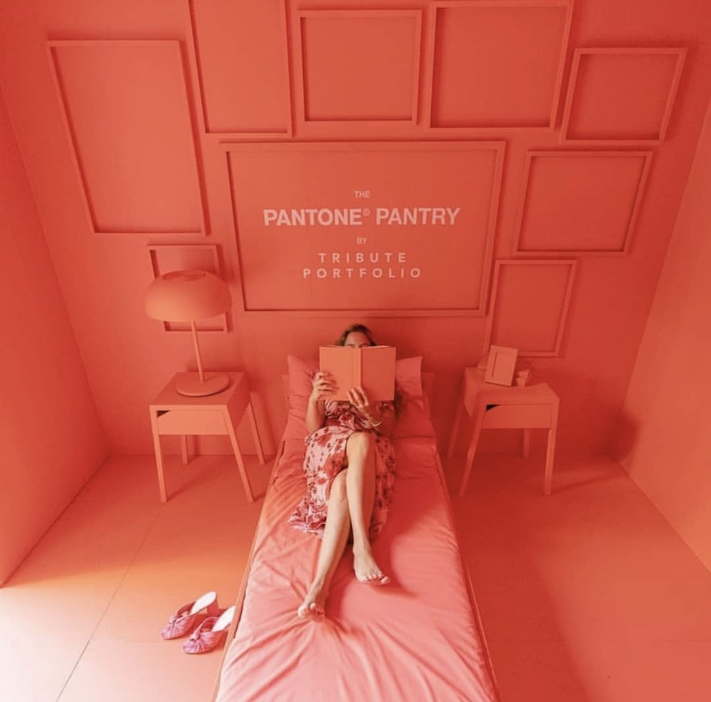 Miami's Art Basel 2019 - Pantone Pantry Tribute Portfolio popup