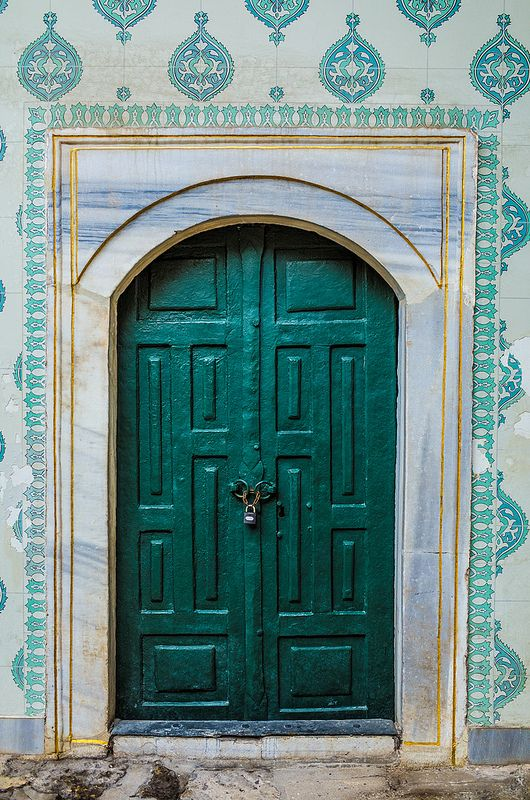 A doorway in Topkapi Palace - Istanbul, Turkey