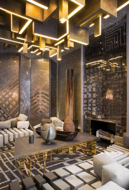 French Interior Designer Jean-Louis Deniot designed room