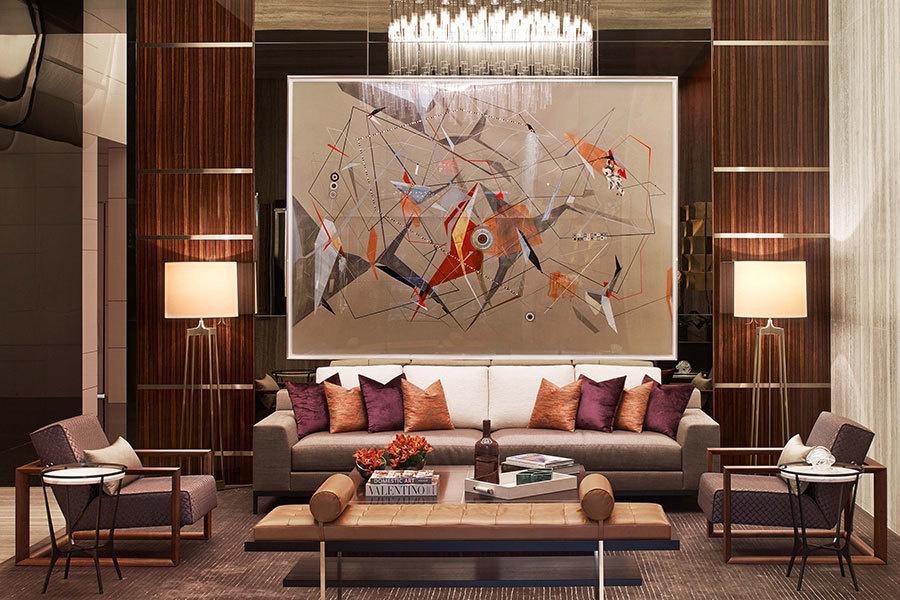 Lobby of One57, Residential Building - NY, NY