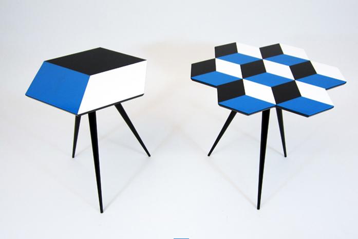 ROCKMAN & ROCKMAN side tables