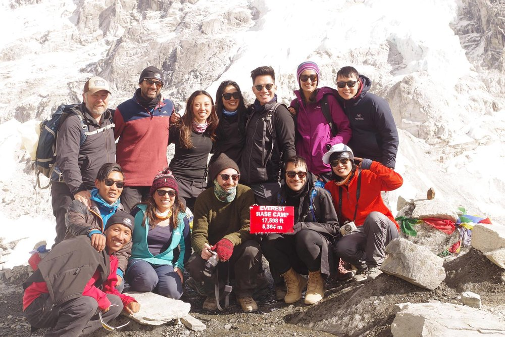 2017 Team at Everest Base Camp