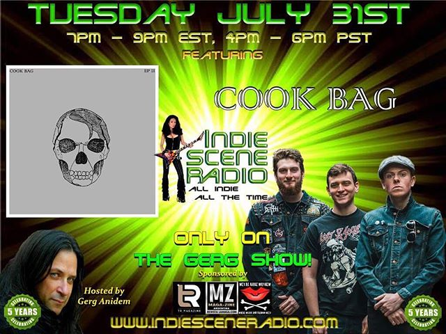 Catch us tonight on Indie Scene Radio talking about the upcoming tour and our future plans! Tune in at www.indiesceneradio.com @ 7pm EST!! #punkband #internetradio #touringband