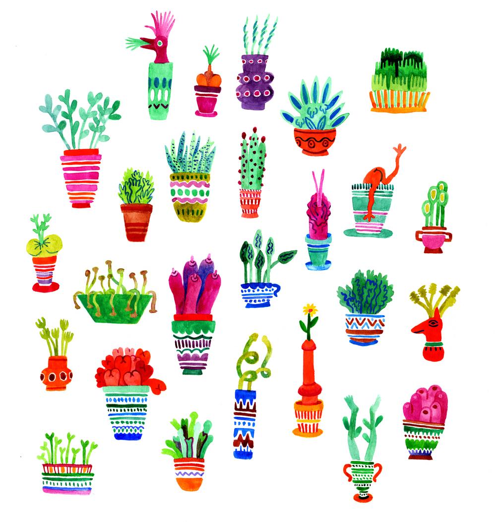 Naughty Plants