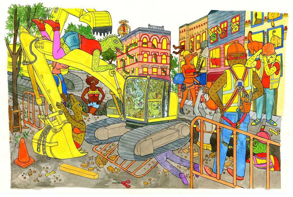 Street Construction 1