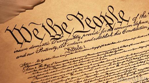 "Image: ""We the People"" script, in Constitution"