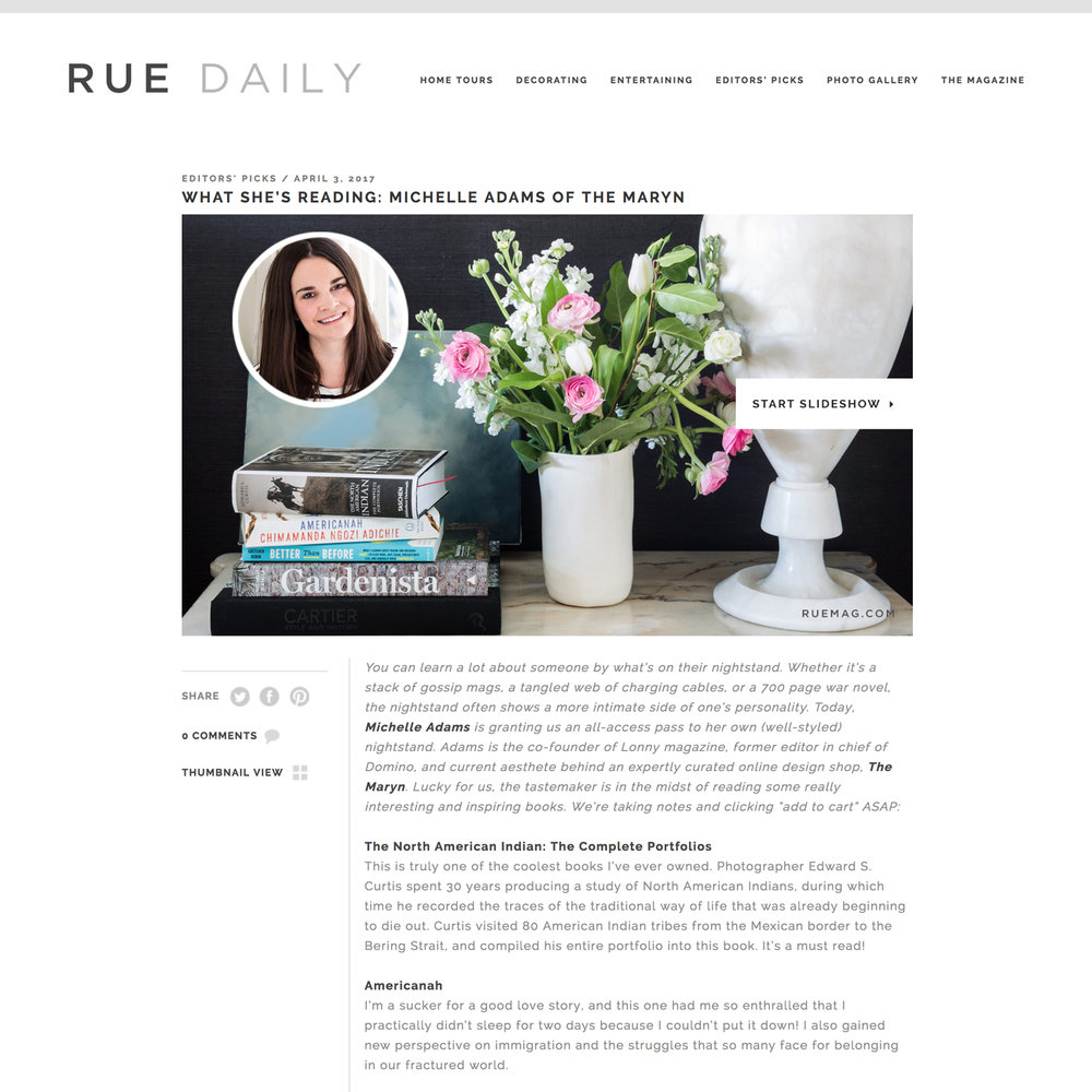RUE DAILY